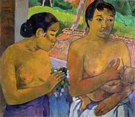 The Offering | Gauguin | Painting Reproduction