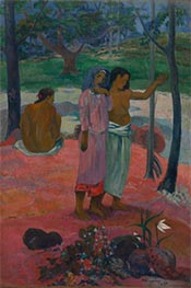 The Call, 1902 by Gauguin | Painting Reproduction