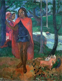 The Magician of Hivaoa, 1902 by Gauguin | Painting Reproduction