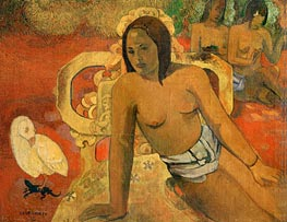 Vairumati | Gauguin | Painting Reproduction