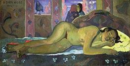 Nevermore, Oh Tahiti, 1897 von Gauguin | Gemälde-Reproduktion
