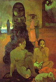 The Great Buddha | Gauguin | Painting Reproduction