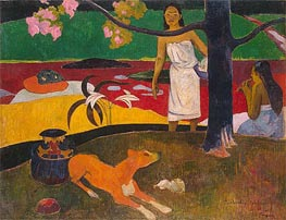 Pastorales Tahitiennes, 1892 by Gauguin | Painting Reproduction