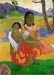 Nafeaffaa Ipolpo (When Will You Marry), 1892 von Gauguin | Gemälde-Reproduktion