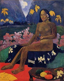 Te Aa No Areois (The Seed of Areoi), 1892 by Gauguin | Painting Reproduction