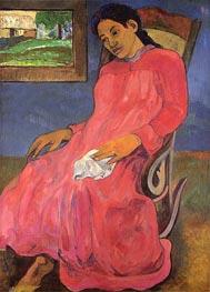 Faaturuma (Melancholy), 1891 by Gauguin | Painting Reproduction