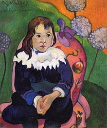 M. Loulou, 1890 by Gauguin | Painting Reproduction