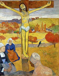 Yellow Christ, 1889 by Gauguin | Painting Reproduction