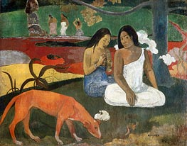 Arearea (Joyousness), 1892 by Gauguin | Painting Reproduction