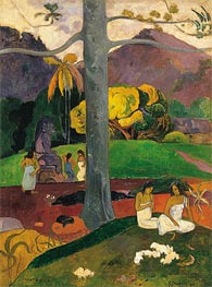 Mata Mua (In Olden Times) | Gauguin | Gemälde Reproduktion