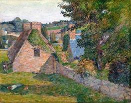 The Field of Derout-Lollichon, 1886 von Gauguin | Gemälde-Reproduktion