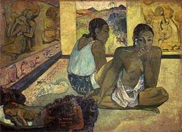 Te Rerioa (Day Dreaming), 1897 von Gauguin | Gemälde-Reproduktion
