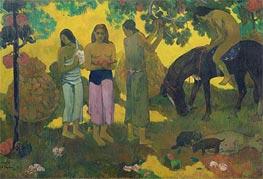Rupe Rupe (Fruit Gathering), 1899 von Gauguin | Gemälde-Reproduktion