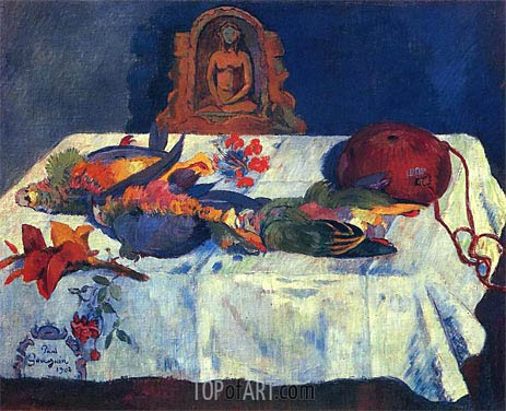 Gauguin | Still Life with Parrots, 1902
