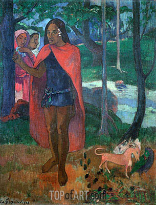 Gauguin | The Magician of Hivaoa, 1902