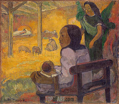 Be Be (The Nativity), 1896 | Gauguin | Gemälde Reproduktion