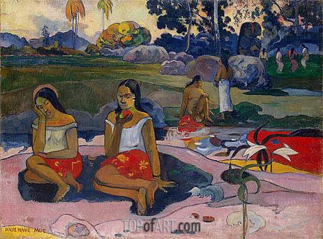 Gauguin | Sacred Spring: Sweet Dreams (Nave nave moe), 1894