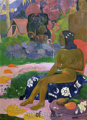 Vairaumati Tei Oa (Her Name is Vairaumati), 1892 | Gauguin| Painting Reproduction