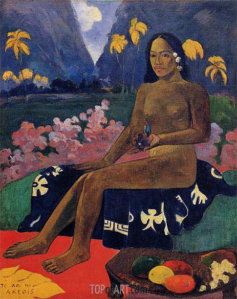 Te Aa No Areois (The Seed of Areoi), 1892 | Gauguin| Painting Reproduction