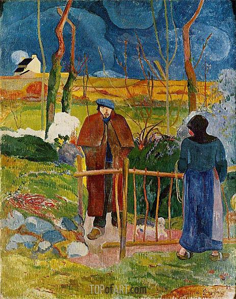 Gauguin | Bonjour Monsieur Gauguin, 1889