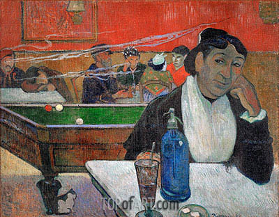 Night Cafe at Arles, 1888 | Gauguin| Painting Reproduction