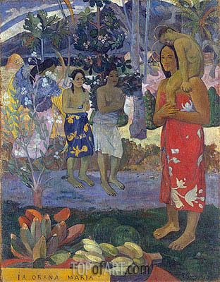Gauguin | Ia Orana Maria (Hail Mary), 1891