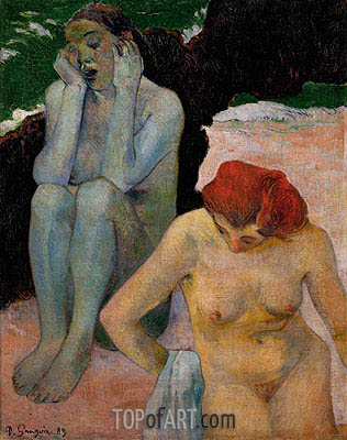 Life and Death, 1889 | Gauguin | Painting Reproduction
