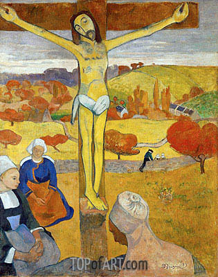 Gauguin | Yellow Christ, 1889