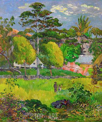 Gauguin | Landscape, 1901