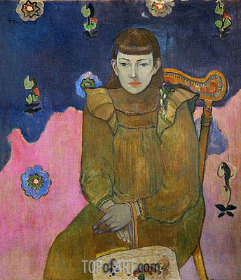 Vaiite (Jeanne) Goupil, 1896 | Gauguin | Painting Reproduction