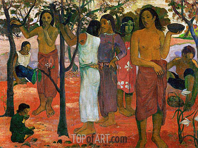Nave nave nahana (Delicious Day), 1896 | Gauguin| Painting Reproduction