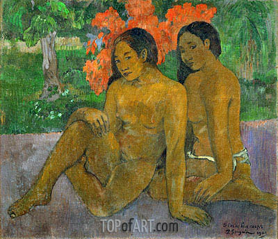 Gauguin | And the Gold of their Bodies, 1901