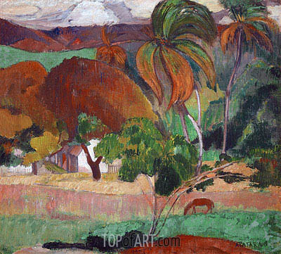 Apatarao, 1893 | Gauguin | Painting Reproduction