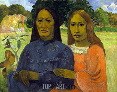 Two Women, c.1901/02 | Gauguin | Painting Reproduction