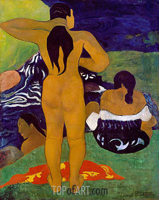 Gauguin | Tahitian Women Bathing, 1892