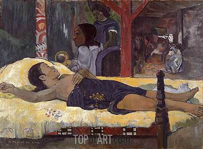Te Tamari no Atua (Son of God), c.1895/96 | Gauguin | Painting Reproduction