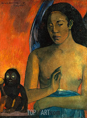 Poemes Barbares, 1896 | Gauguin| Painting Reproduction