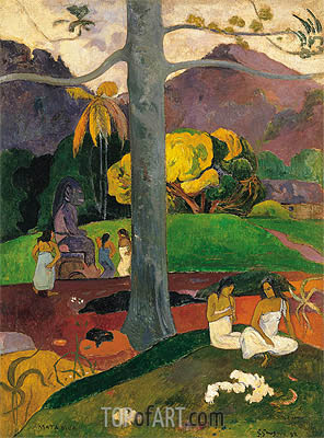 Gauguin | Mata Mua (In Olden Times), 1892