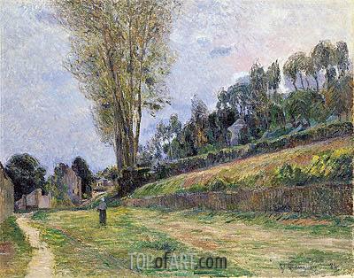 Gauguin | An Orchard under the Church of Bihorel, 1884