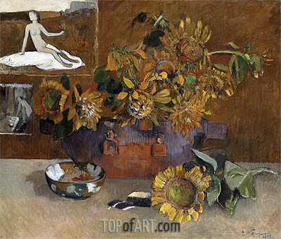 Still Life with l'Esperance, 1901 | Gauguin | Painting Reproduction