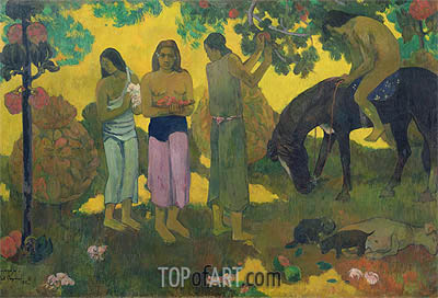 Rupe Rupe (Fruit Gathering), 1899 | Gauguin | Painting Reproduction