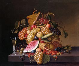 The Abundance of Summer, undated von Paul Lacroix | Gemälde-Reproduktion