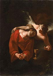 The Agony in the Garden | Paul Troger | Painting Reproduction