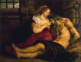 Roman Charity | Rubens | Painting Reproduction