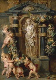 Statue of Ceres, c.1615 by Rubens | Painting Reproduction