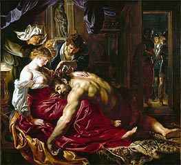 Samson and Delilah, c.1609/10 by Rubens | Painting Reproduction