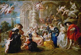 Garden of Love, c.1633 by Rubens | Painting Reproduction