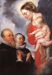 Virgin and Child | Rubens | Gemälde Reproduktion