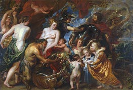 Minerva Protects Pax from Mars (Peace and War), c.1629/30 by Rubens | Painting Reproduction