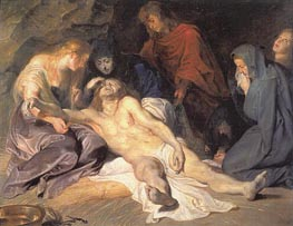 The Lamentation, 1614 by Rubens | Painting Reproduction
